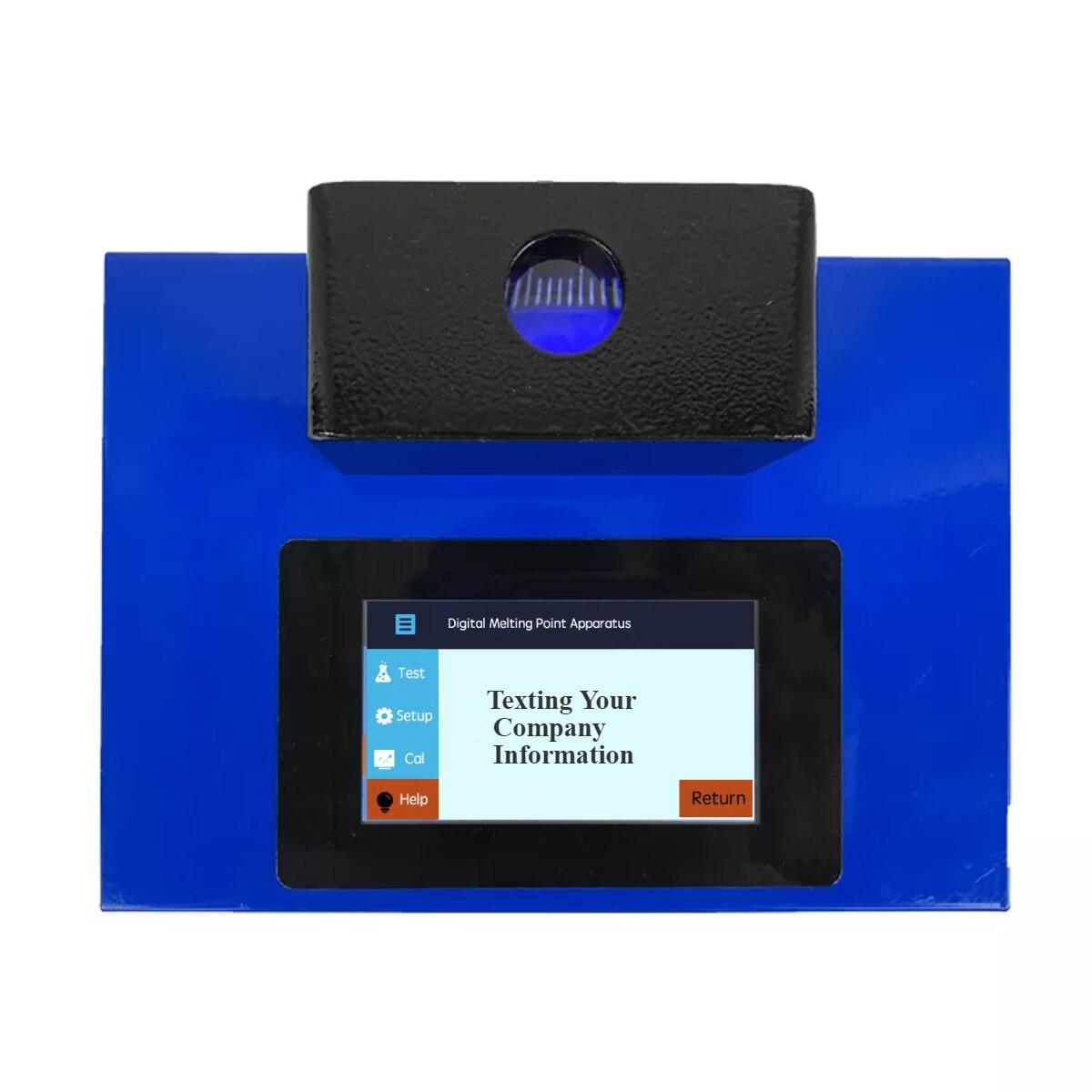 AELAB سعر جيد نقطة انصهار اختبار DMP-800 مع أنابيب صغيرة التلقائي كشف آلة اختبار الجهاز الرقمي