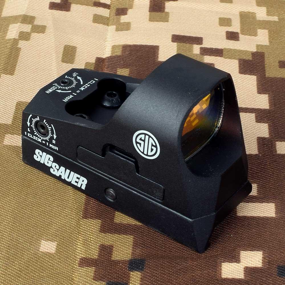 ROMEO3 1x25 Mini reflejo vista 3 MOA Dot retícula Vista de punto rojo alcance Picatinny QD para montaje en Rifles y carabinas