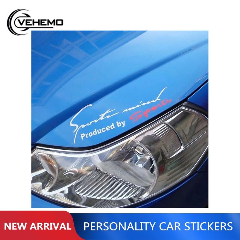 1 pc reflexivo carro de corrida decalque vinil adesivo gráfico logotipo para porta janela do carro asa cobre pára-choques lado do carro adesivos