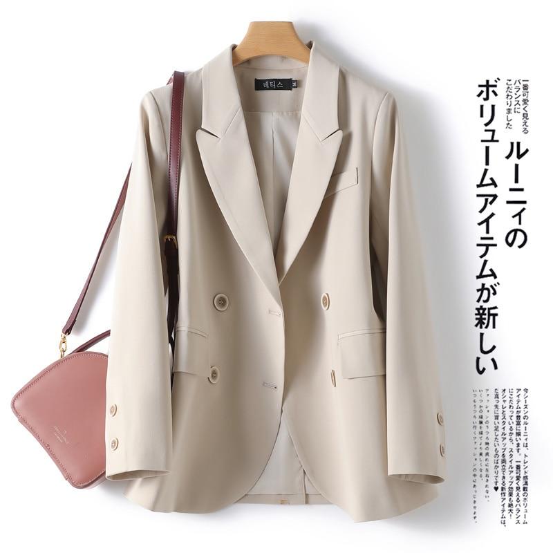 21 Autumn New Back Slit Casual All-Match Design Sense Niche Suit Jacket Small Suit Jacket for Women