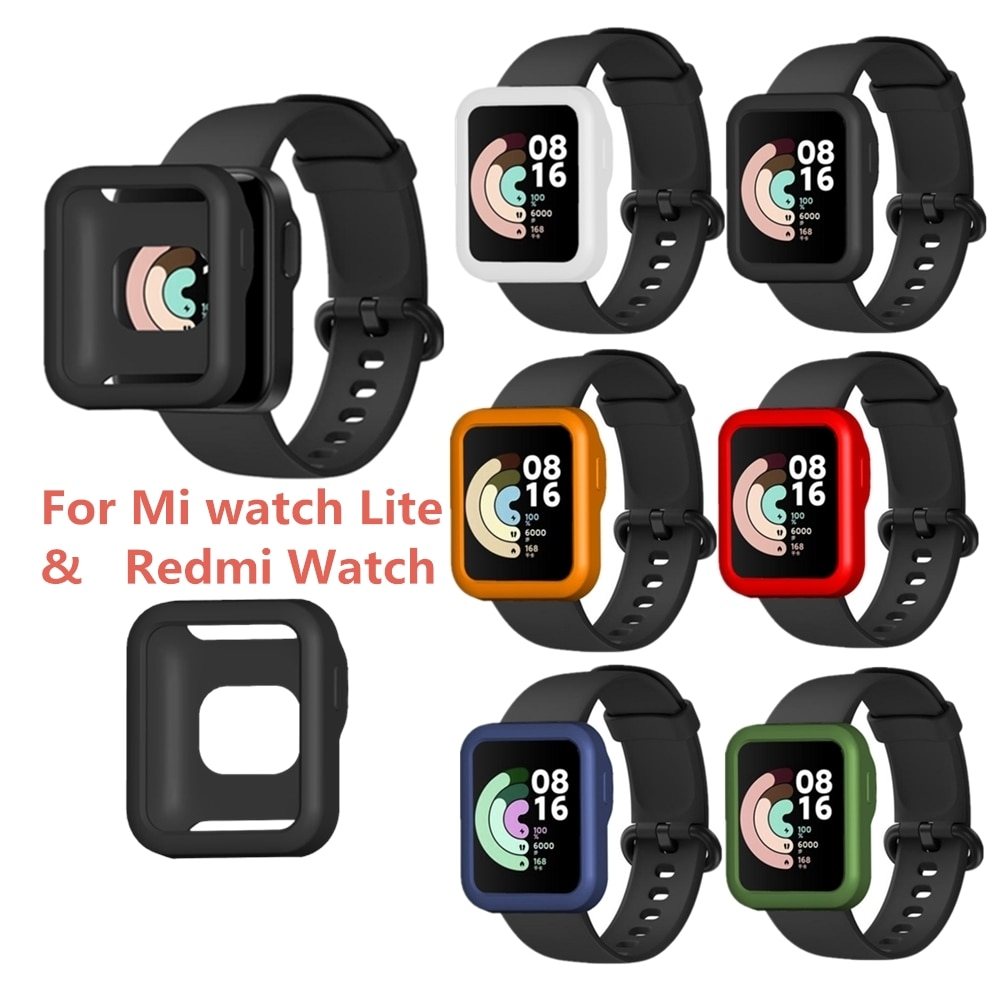 Protective Case for Smart Watch PC Case Slim Skin Cover for MI Watch Lite for Redmi Watch Smart wearable Accessories