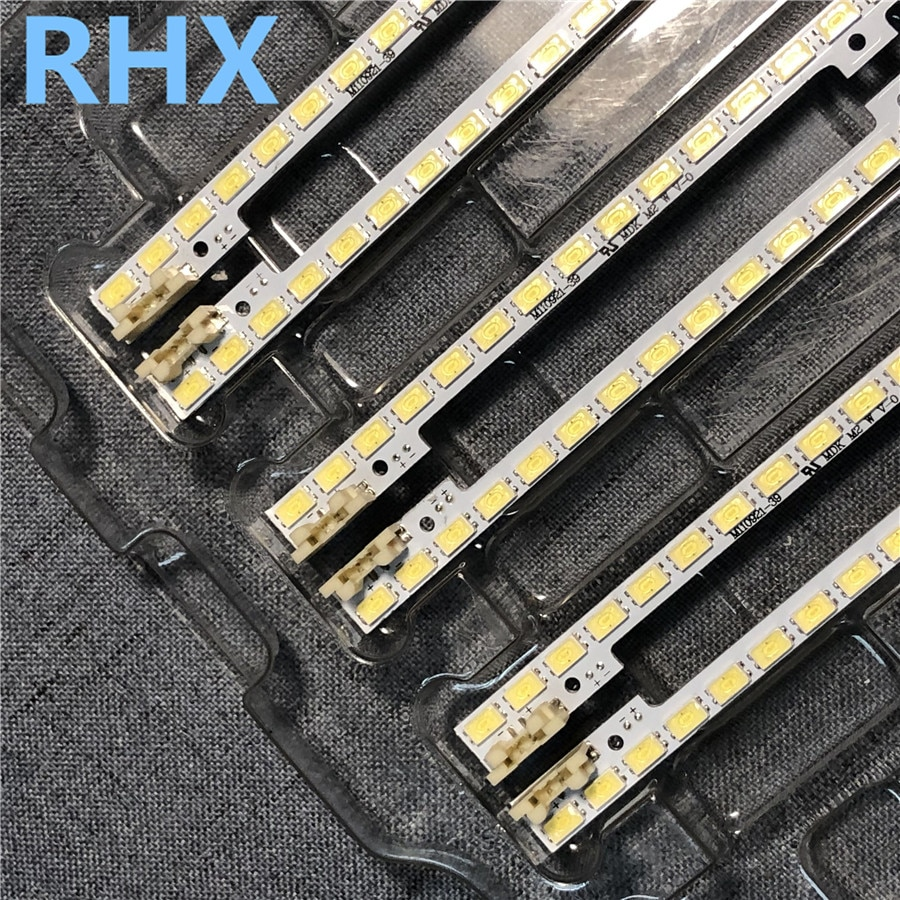 4 peças/lote para samsung ue32d5520 tira conduzida BN64-01634A para tela LTJ320HN01-J 100% novo 1 pçs = 44led 347mm esquerda e direita