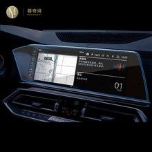 Para bmw g05 g06 g07 x5 x6 x7 2019 2020 carro gps navegação película protetora tela lcd tpu filme protetor de tela anti-risco filme