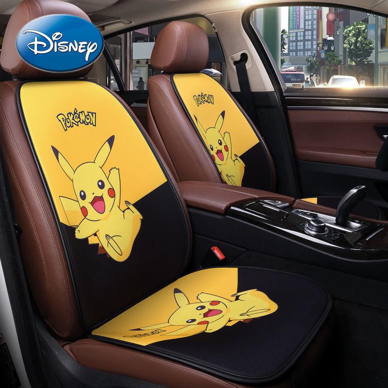 Disney Minnie Mickey Car Seat Cover Four Seasons Universal Summer Cold Cushion Cartoon Car Seat Cushion enlarge