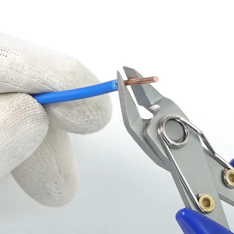 5 colių tikslumo įstrižinės replės pjovimo replės didelio - Rankiniai įrankiai - Nuotrauka 4