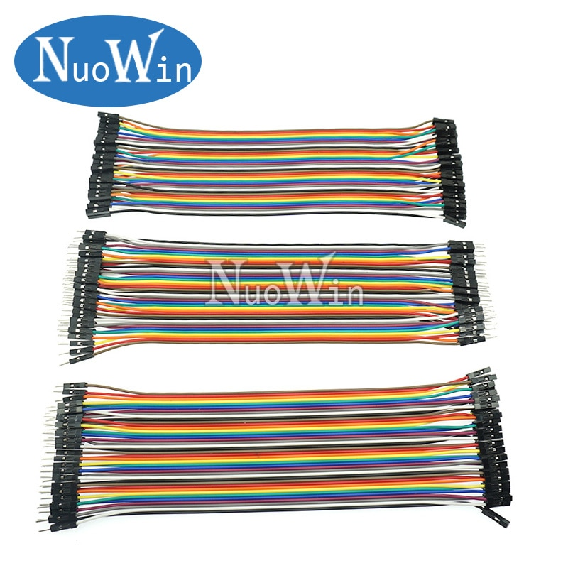 Dupont Line 10CM 20CM 30CM Male to Male + Female to Male + Female to Female Jumper Wire Dupont Cable for arduino DIY KIT