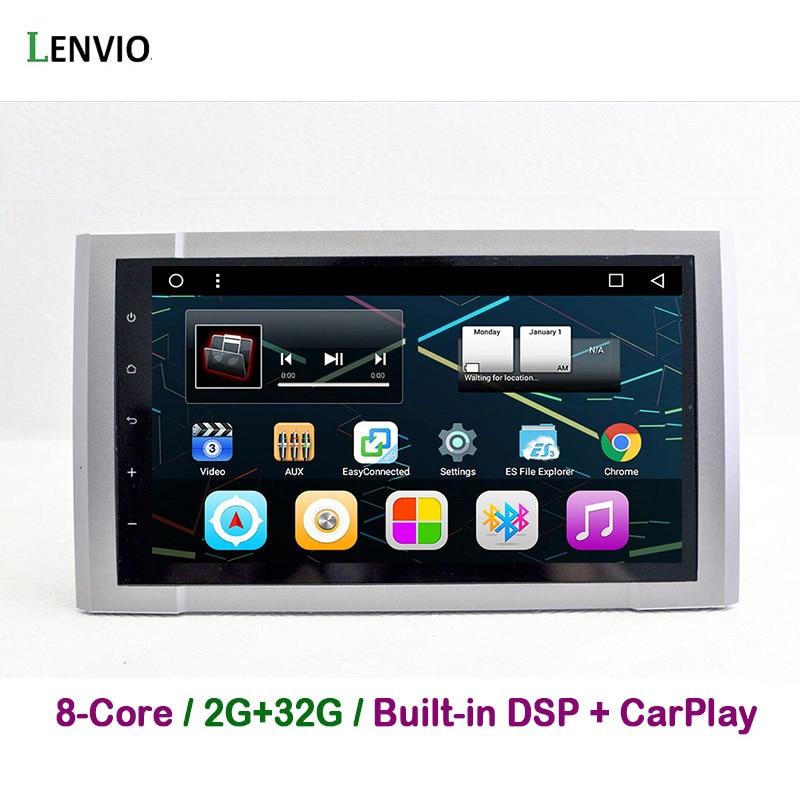 Lenvio DSP RAM 2G+32 2 Din Android 8.1 CAR Radio GPS Navigation multimedia For Toyota Tundra 2014 2015 2016 CAR DVD Player WIFI