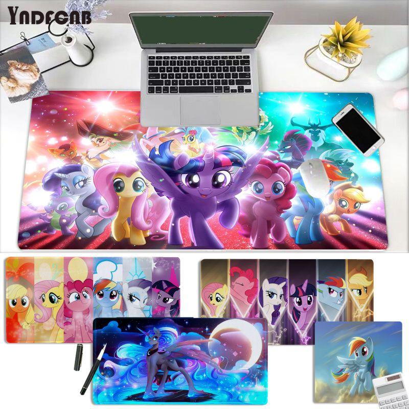 Большой игровой коврик для мыши YNDFCNB my little pony, размер L, XL, XXL, игровой коврик для мыши, размер для Deak, коврик для overwatch/cs go/world of warcraft