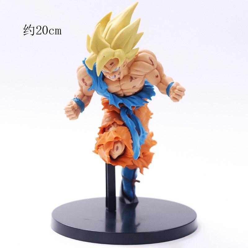Figura de acción de Dragon Ball Super A11, 19cm, Bola de dragón única, 320g