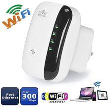 2.4G sans fil Wi-Fi répéteur 300Mbps WiFi Booster WiFi Signal amplificateur Point daccès 802.11N longue portée Repiter Wifi répéteur