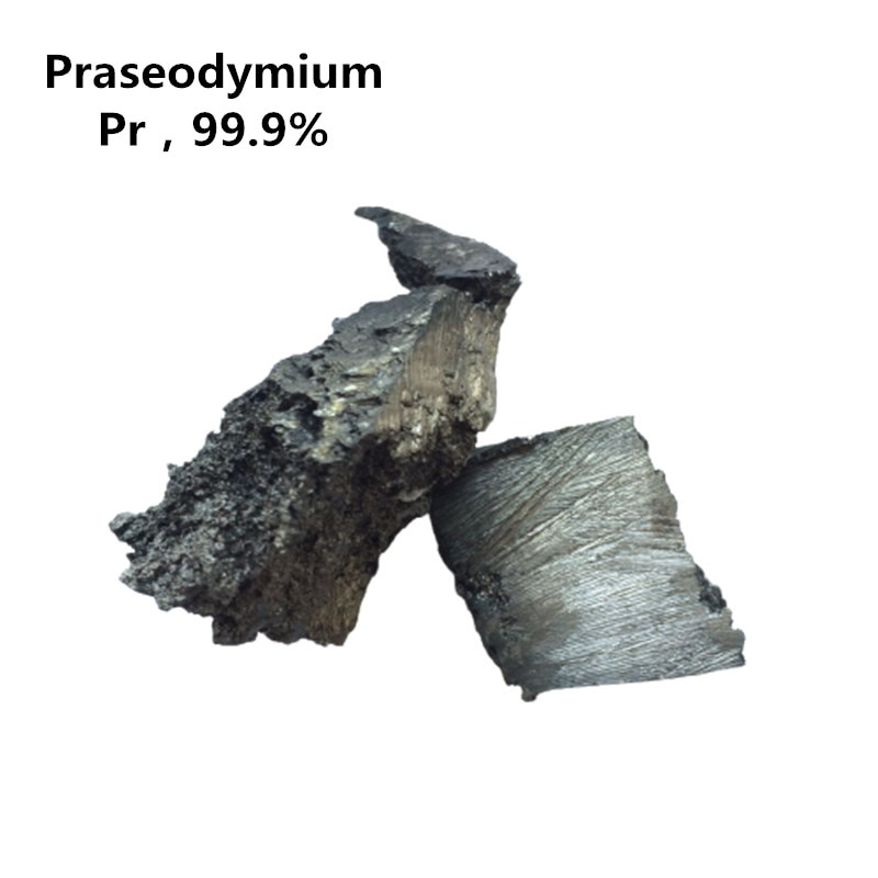 500g Praseodymium Block 99.9% Pure Rare Earth Metal Pr Scientific Research Experiment Collection Hobby Free Shipping