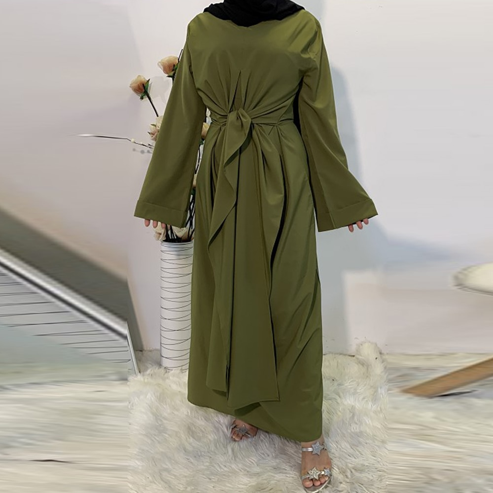 فستان حجاب أفريقي للنساء ، ملابس إسلامية على الطراز الأوروبي ، عباية عيد مبارك ، دبي ، تركيا ، حجاب عربي