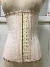 Corpo shapewear mulheres látex cintura trainer 25 aço osso underbust emagrecimento espartilho roupa interior cinta faja feminino shapewear