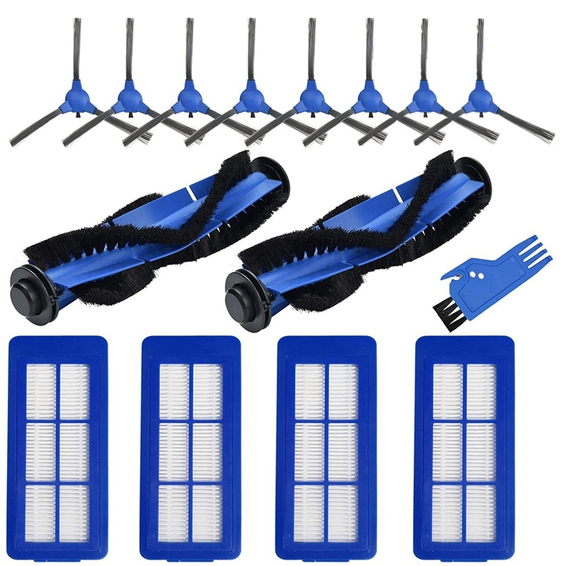15-Pack Replacement Parts Accessories for Eufy RoboVac 11S Max,15C Max, 30C Max G30 Cleaners Sweeping Brush