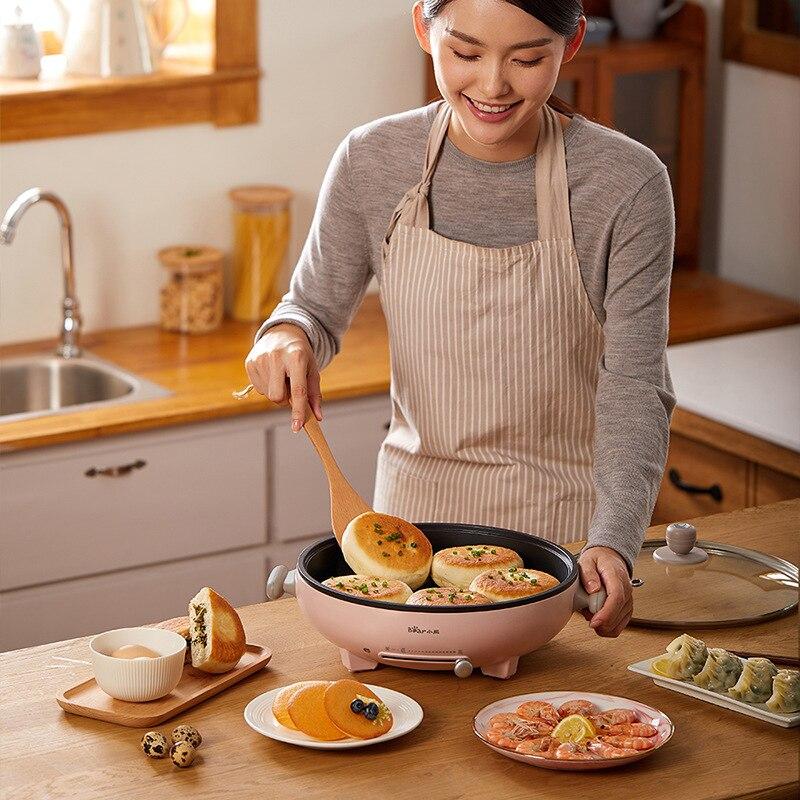 مقلاة خبز مقلاة كهربائية كهربائية مقلاة غير لاصقة مقلاة مقلاة الطبخ وعاء كهربائي قابل للتعديل درجة الحرارة