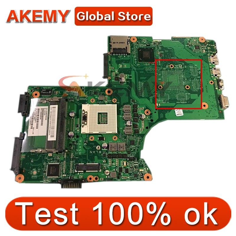 AKEMY V000288220 1310A2492460 اللوحة المحمول لتوشيبا P870 P875 اللوحة SLJ8E DDR3 6050A2492401-MB-A02