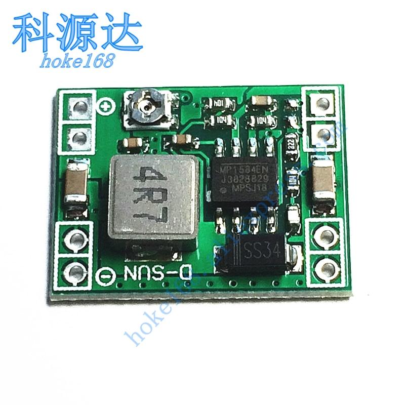 3 шт./лот MP1584 LM2596S Регулируемый понижающий модуль