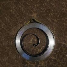 Extensión de fuerza constante bobina de acero inoxidable power muelles de torsión de espiral plana, 0.5x5x2500mm