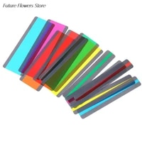 12pcs guided reading highlight strips overlay bookmarks for children guided