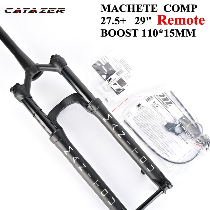 Catazer-MACHETE COMP 27.5 29er BOOST للدراجات الجبلية ، تعليق ، زيت وغاز ، مخروط قفل عن بعد ، 100 مللي متر