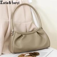 luxury designer shoulder corssbody womens pleated cloud bag small purses and handbags fashion female summer mini armpit bags