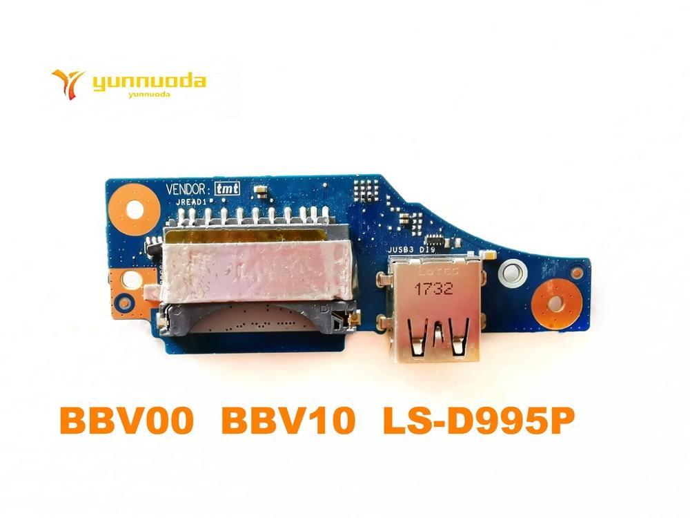 الأصلي لديل انسبايرون 15 7567 P65F USB مجلس SD مجلس BBV00 BBV10 LS-D995P CN-01148Y اختبار جيد شحن مجاني
