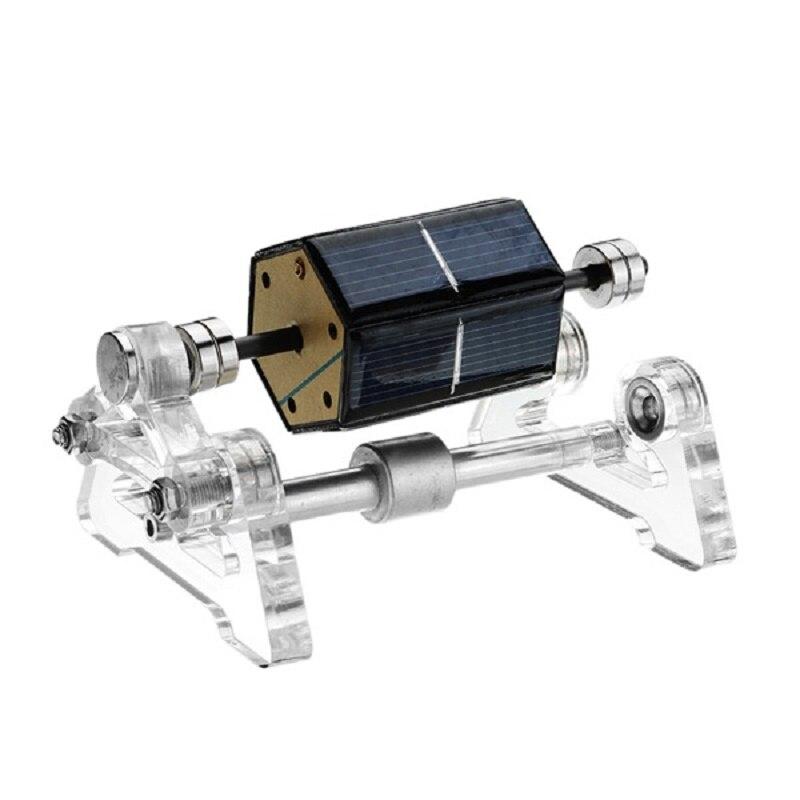نموذج تعليمي مغناطيسي Stark-2 تعمل بالطاقة الشمسية, لعبة تعليمية ، نموذج رفع مغناطيسي ، مصنوع يدويًا ، هدية