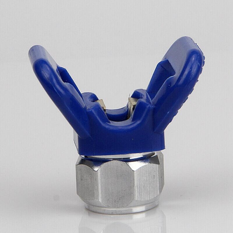 2 uds. Boquilla sin aire de alta presión para boquilla Fraxc Spray protector de punta para punta r-serise