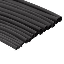 1 метр 2:1 черный 1 2 3 4 5 6 7 8 10 мм Диаметр Термоусадочные трубки обёрточная бумага провода Продажа DIY разъем ремонт