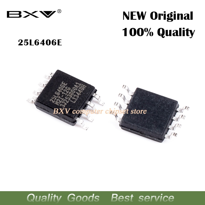2pcs 25L6406E MX25L6406E MX25L6406EM2I-12G SOP-8 Routing LCD driver board memory new original laptop chip free shipping