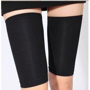 women Leggings unisex pressure compression leggings sports pants bundle leg socks leg protection nylon black skin color