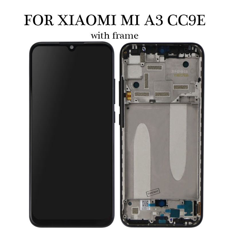 Super AMOLED for Xiaomi Mi A3/ CC9e lcd Display Touch Screen Digitizer Assembly Replacement Parts 6.01