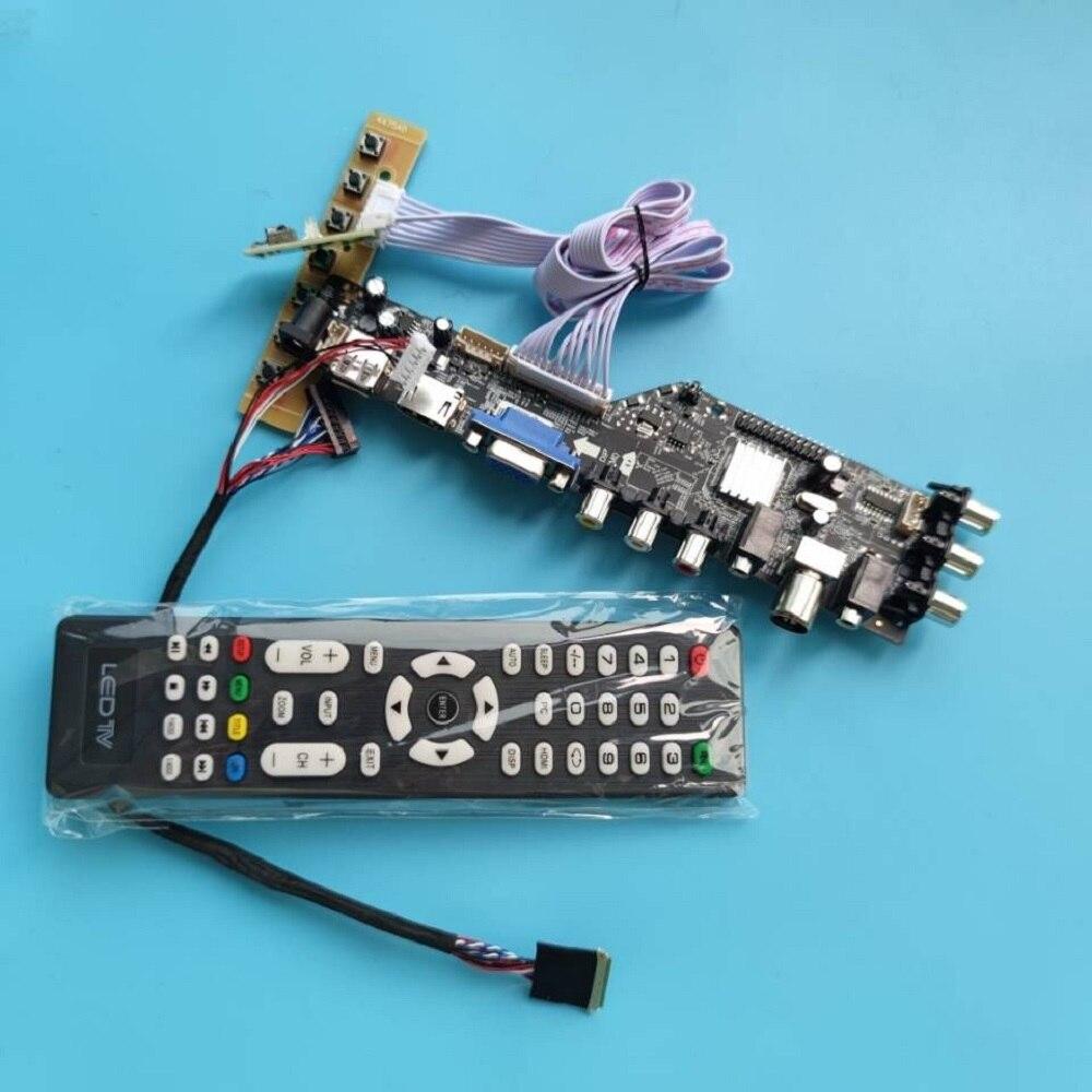 عدة ل N140FGE 1600x900 لوحة رصد جهاز تحكم رقمي مجلس HDMI متوافق سائق dvb-t DVB-T2 LED USB VGA AV TV عن بعد