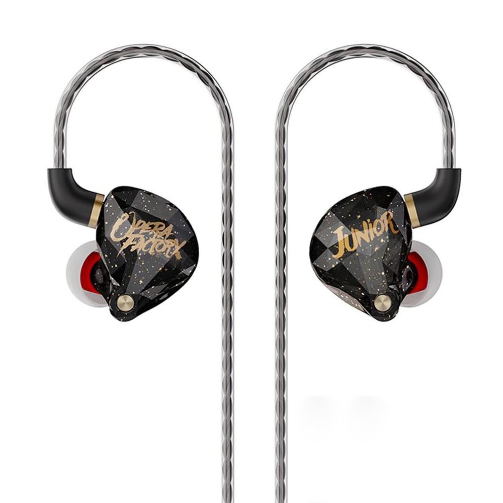 Hifi Headphones Super Bass Wired Headse Monitor Noise Canceling DJ Headphones With Microphone