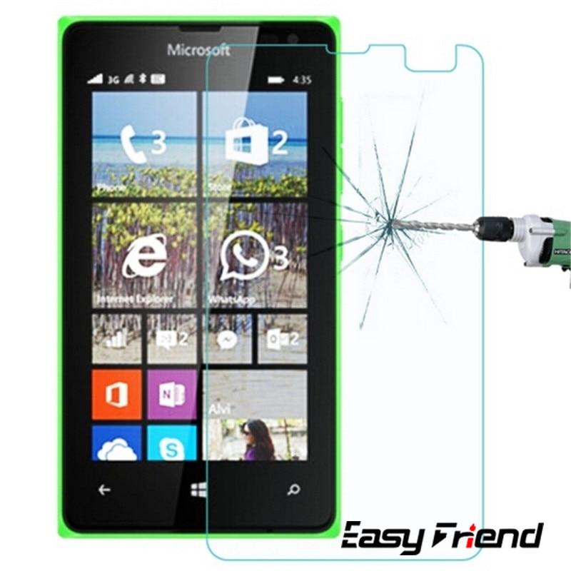 Microsoft para Nokia Lumia 435/532 Protector de pantalla Dual SIM 9H película...