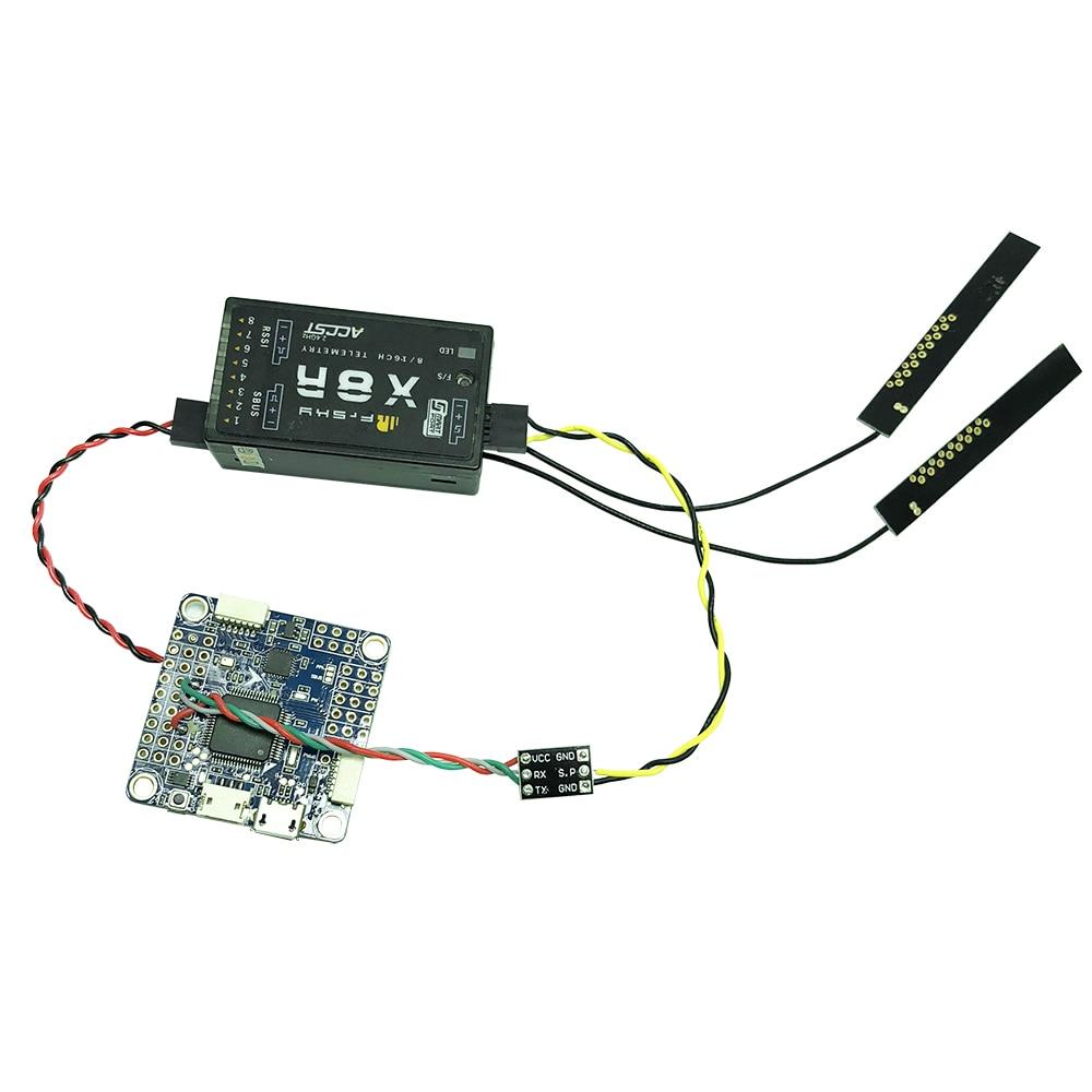 Frsky S.Port / F.Port Signal Inverter Board for F4 Flight Controller to X8R/X4RSB/XSR/XSR-M/R9/R9 Slim/R9 mini Receiver