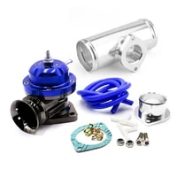 type rs adjustable 25psi blow off valve adaptor with 63mm 2 5 flange pipe for gd rs fv rz bov adapter l150mm