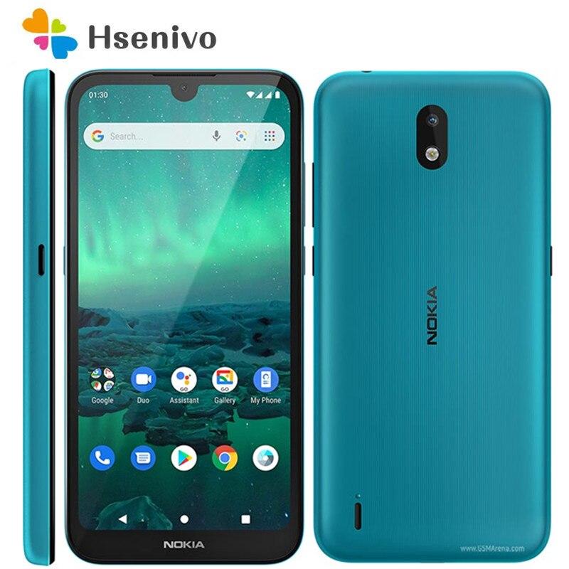 Nokia 1,3 Восстановленный Оригинальный разблокированный LTE 4G 5,71 дюймов 16 ГБ 1 ГБ ОЗУ 8 Мп Wi-Fi четырехъядерный Бесплатная доставка
