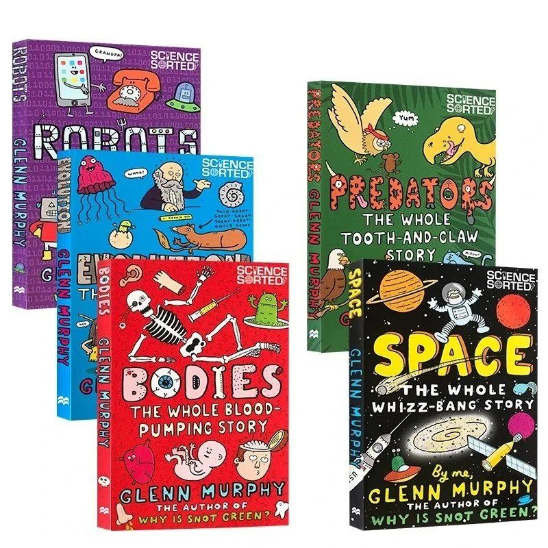 Glenn Murphy'S Scientific Classification 5 Volumes Of Popular Science Books In English For Children Libros cuentos infantiles