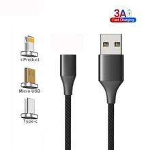 CANDYEIC Charging Cable Magnetic Cable For iPad 2019 Charging Data Cable Line Mobile accessories For