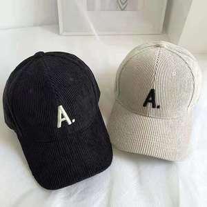 2021 New Unisex Letter A Baseball Cap Snapback Cotton Hat for Women and Caps for Men Adjustable casual Men's Cap
