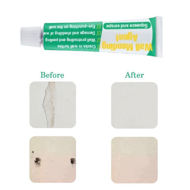 Crema de pasta para reparación de paredes, de 20ml, de secado rápido, práctica e Invisible, a prueba de grietas, adhesivos para reparación de paredes, agente de reparación de paredes TSLM1