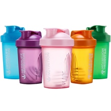 400 Ml Whey Protein Powder Mixing Bottle Sports Fitness Gym Bottle Outdoor Portable Plastic Drinking