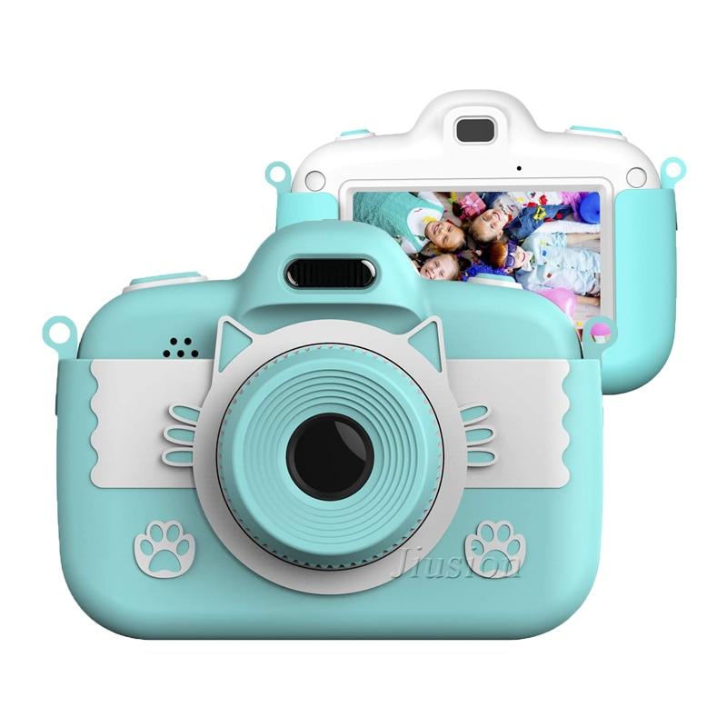 Minicámara Digital para niños, videocámara Digital, juguetes de regalo, lente Dual, telecámara