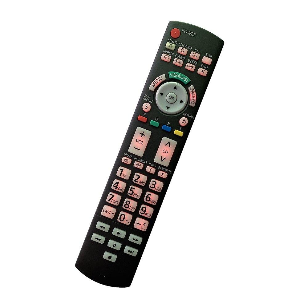 Reemplazo de Control remoto para Panasonic vía LED LCD HDTV TV N2QAYB000352 N2QAYB000487 N2QAYB000572 N2QAYB000863 N2QAYB000928