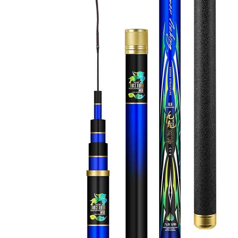 3.6m-11m Power Hand Rod 12H Super Hard Sturgeon Angeln Canne High Carbon Telescopic Wedkarstwo Olta Spinning Oltas enlarge