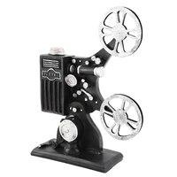 Retro nostalgique Film projecteur modele accessoires creatif cinema tir ornements resine artisanat pour la decoration de la maison artisanat