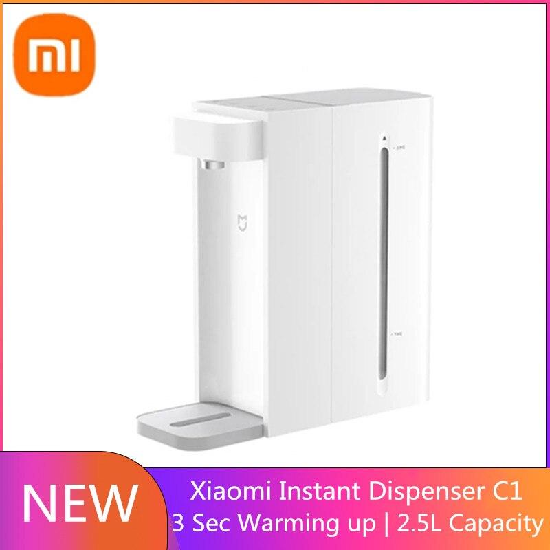 شاومي Mijia C1 الذكية لحظة موزع مياه الشرب الساخن 3S تسخين سريع درجة حرارة الماء المحمولة الرئيسية/مكتب سطح المكتب 2.5L