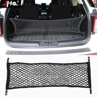JHO Envelope Style Trunk Cargo Net Mesh Organizer Storage For Ford Explorer 2011-2019 12 13 14 15 2016 2017 2018 Car Accessories