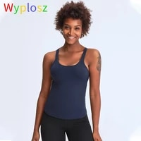 wyplosz vests for womens underwear tank top clothing training sports bra push up fitness vest set suit yoga woman sexy male gym